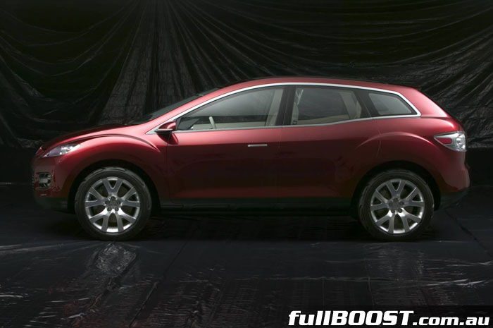 Mazda S Mx Crossport Concept To Debut At 2005 North American