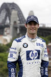 BMW WilliamsF1 Team Driver Mark Webber Makes History Crossing Sydney Harbour Bridge