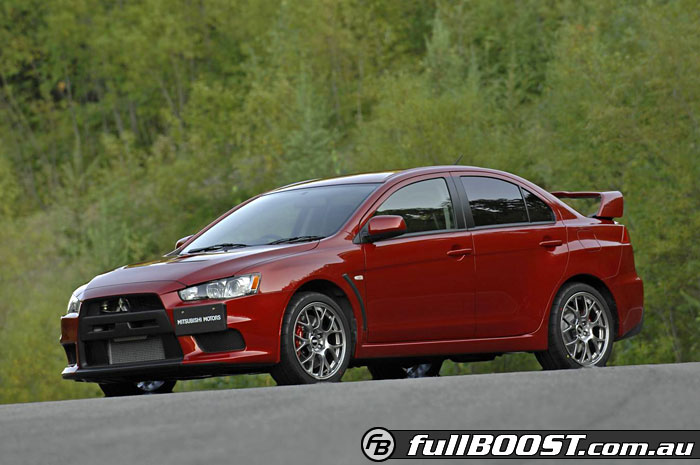 Mitsubishi To Unveil The All New Lancer Evolution At The