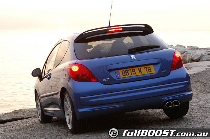 the peugeot 207 gti the day to day hot hatch. Black Bedroom Furniture Sets. Home Design Ideas