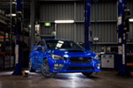 Subaru offers exclusive motorsport WRX STIS
