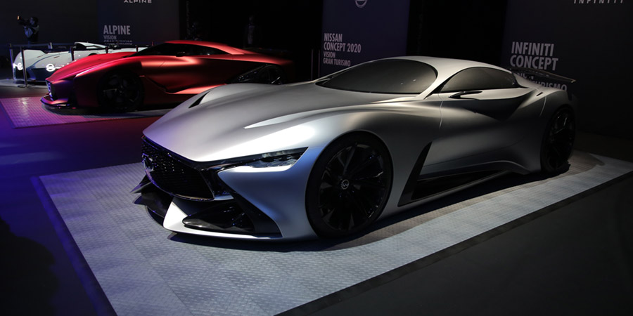 Infiniti Concept Vision Gran Turismo displayed at launch of new