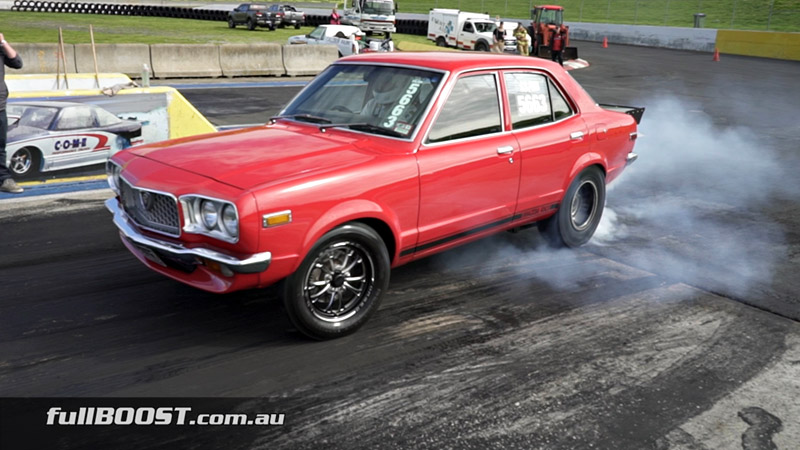 Mazda RX3 street car | Sequential gearbox upgrade - fullBOOST