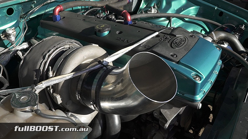 Ford Falcon ED with BARRA power - fullBOOST